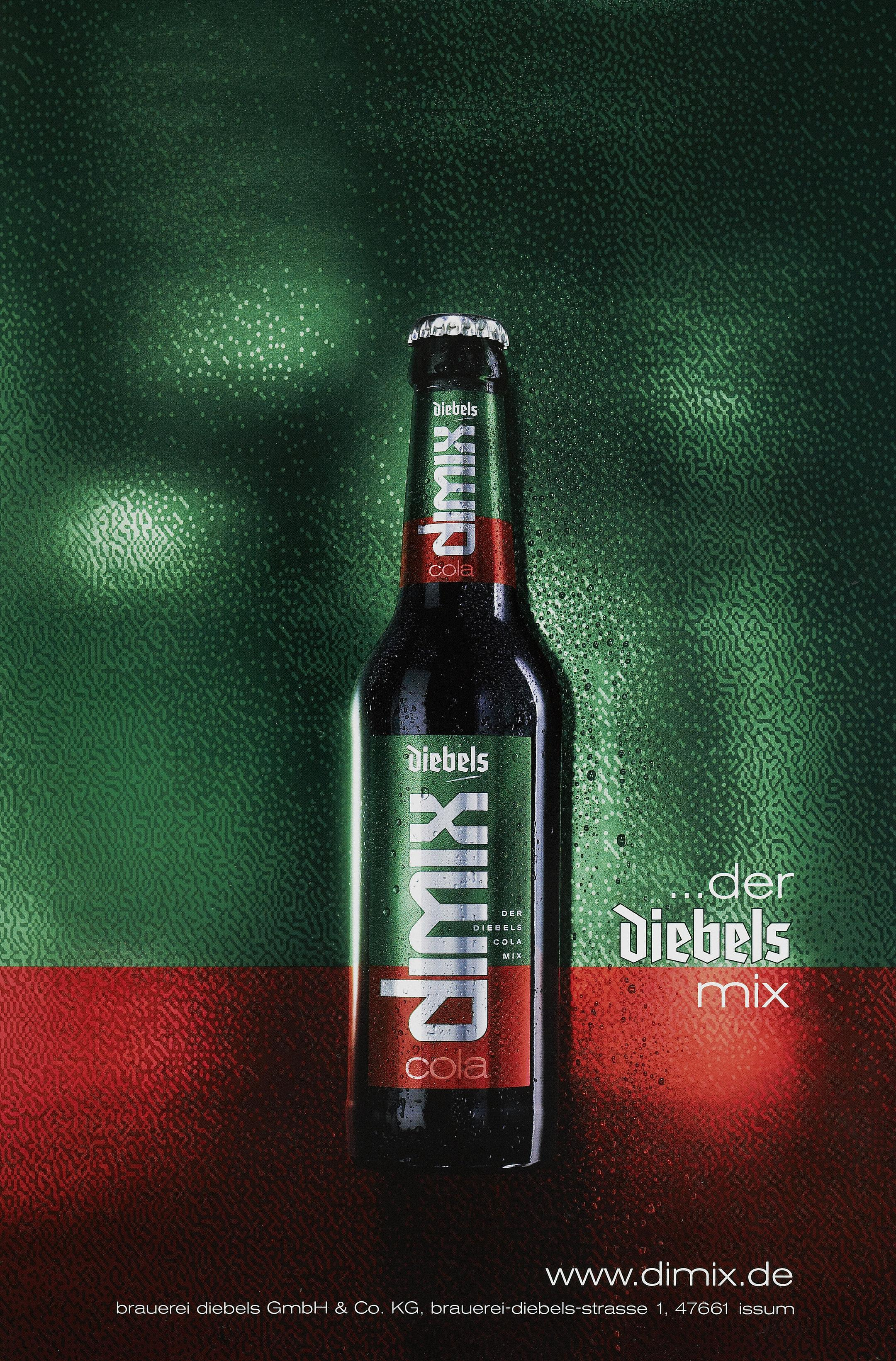 Dimix - Diebels Altbier mit Cola Mixgetränk