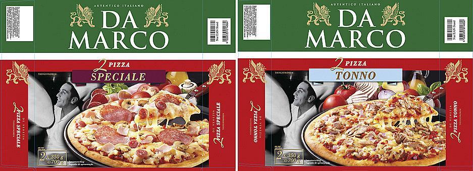 Da marco Pizzaverpackungen