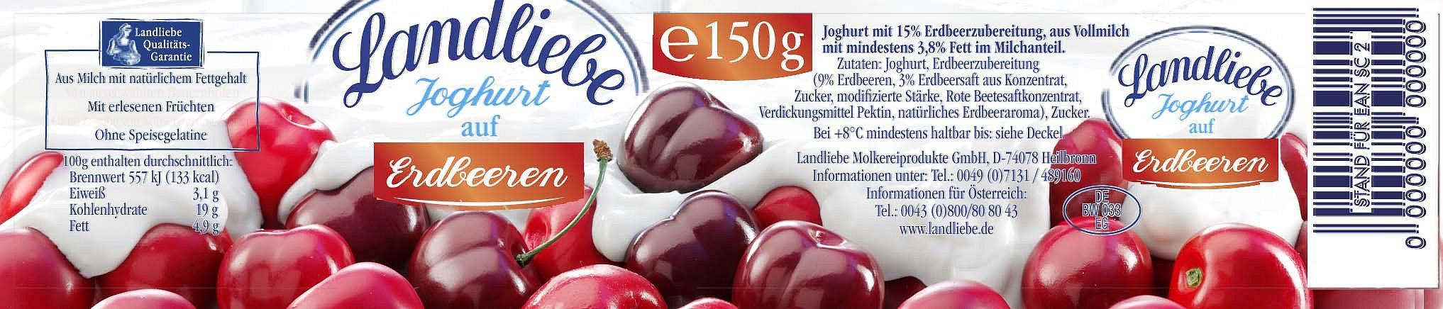 Fotografie von frischen Lebensmitteln: Früchte mit Joghurt