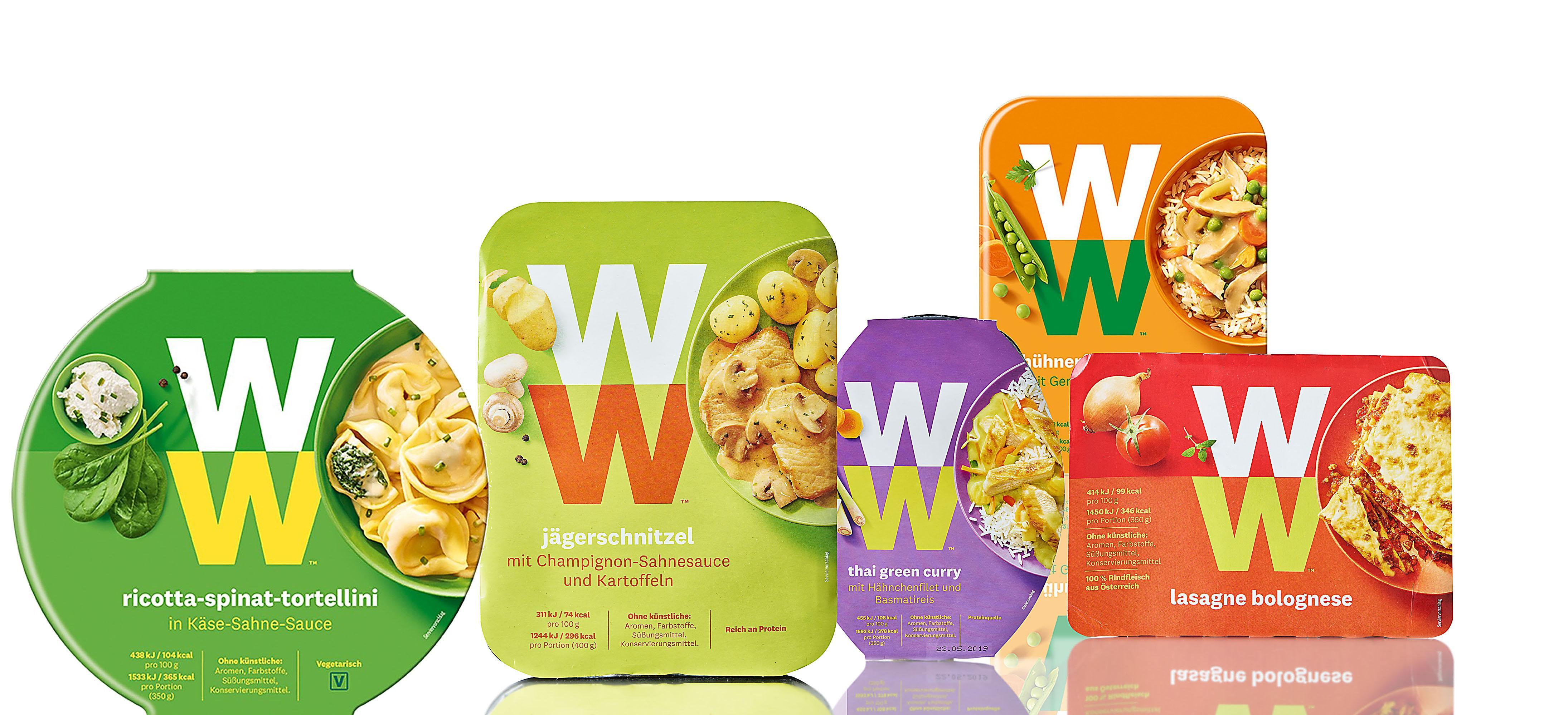 Weight Watchers Packungen Relaunch 2019